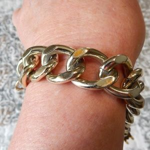 Simply Dramatic Chain Bracelet
